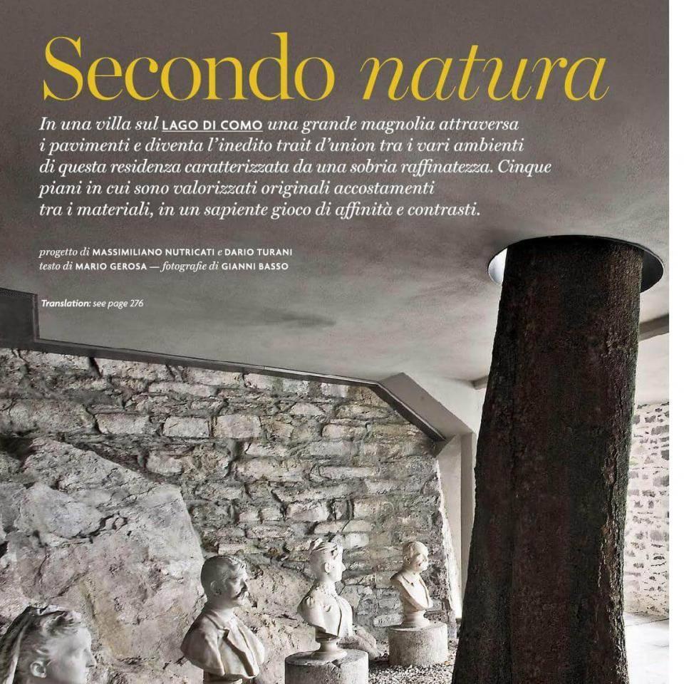 Pubblicazione dei progetti premium su riviste specialistiche del settore