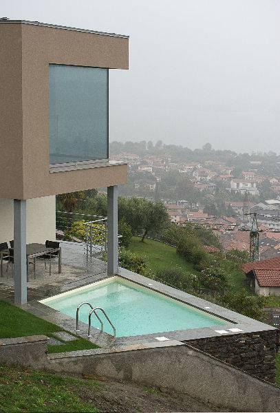 Panoramica villa a Dongo - studio Numax