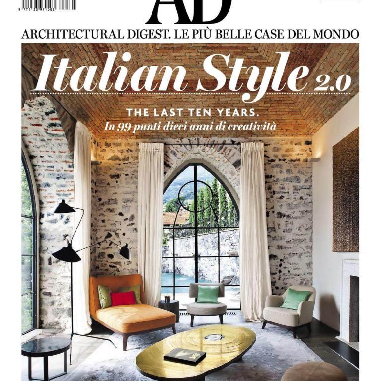 Architectural digest -Novembre 2006 - studio architettura Numax - Cover