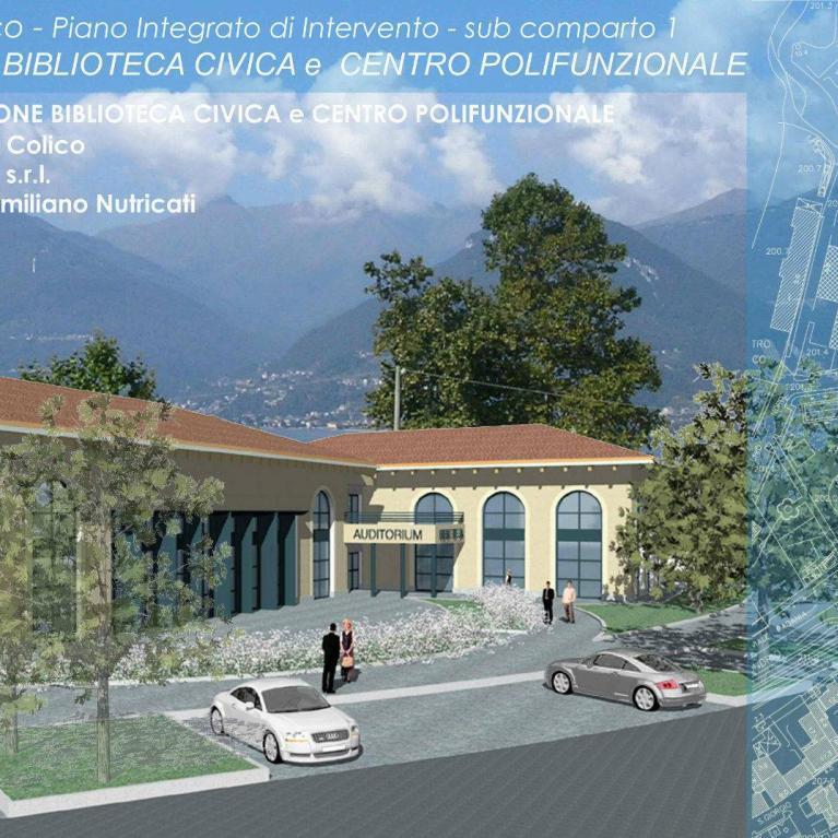 Progetti studio architettura Numax su Auditorium della biblioteca