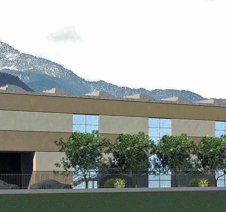 Realizzazione edificio per uffici e magazzino a Colico- studio architettura Numax