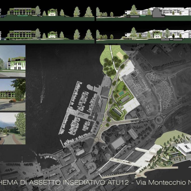 Riqualificazione Lungolago con complesso residenziale - studio Numax