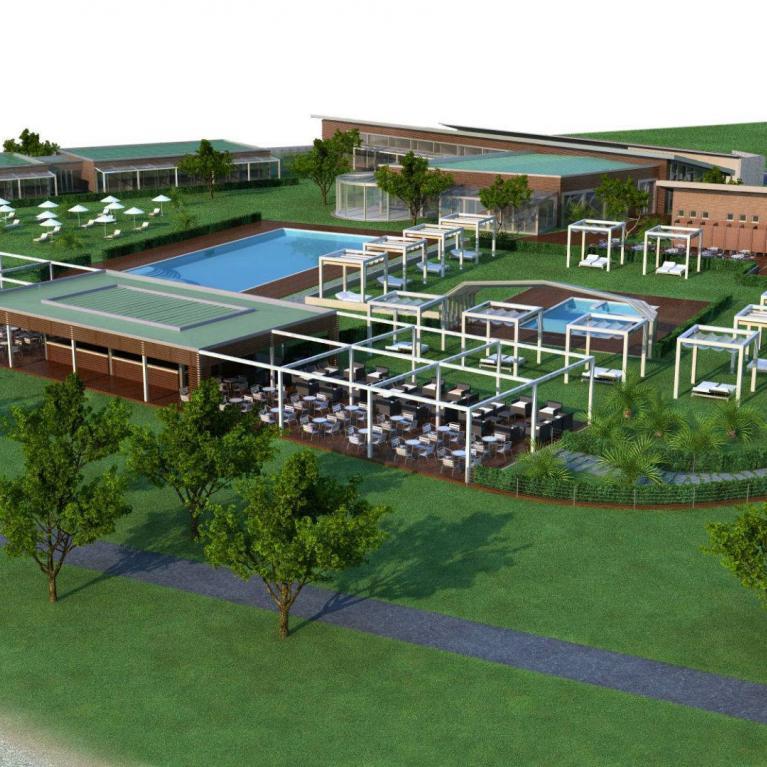 Progetto Numax (Architettura ed interior design) di Seven Park Hotel a Colico (Co)