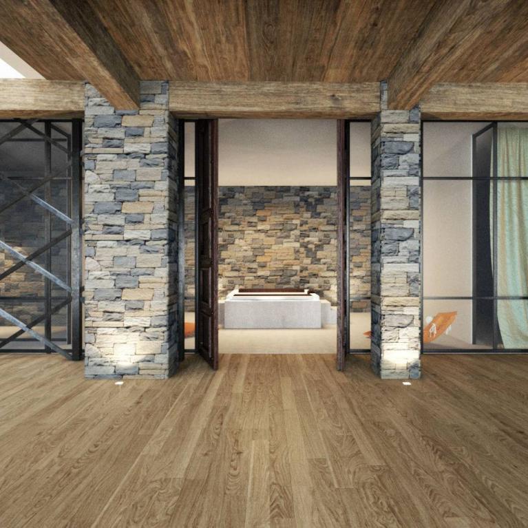 Realizzazione studio Numax di villa privata a Griante (Co)