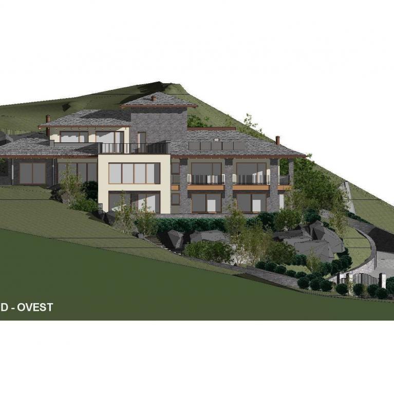 Villa classica studiata dallo studio architettura Numax