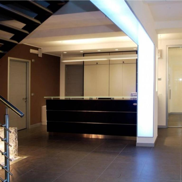 Interior design dello studio Numax di Sondrio